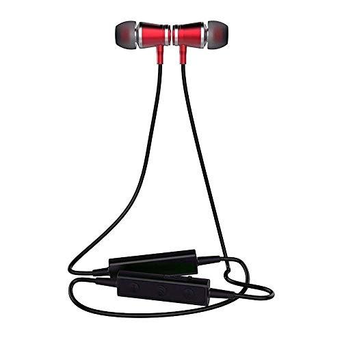 Magic Beat Fitness APTX Sport-Kopfhörer Bluetooth Akku magnetische IPX7 Wasserdicht kabellos Sport Bass+ Technologie, Sportkopfhörer Joggen/Laufen Bluetooth 4.1, In Ear Kopfhörer mit Mikrofon für iPhone Android