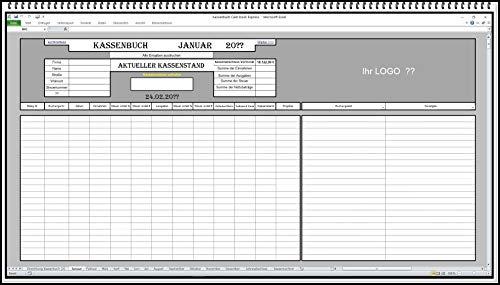 Elektronisches Kassenbuch-Software zur Berechnung von Einnahmen-Ausgaben-Überschuss Excel App auch 5{5bf6a49581638b5ab964908090612552bf778f62f81e1cf029a4438c6f6dde7f} ud 16{5bf6a49581638b5ab964908090612552bf778f62f81e1cf029a4438c6f6dde7f} MwSt