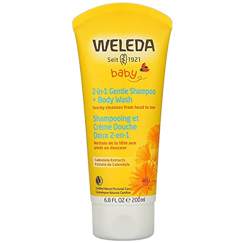 Weleda - Caléndula champú y body wash 200.ml x 2.(pack de 2)