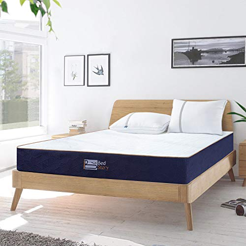 BedStory Matratze 140 x 200 cm, 7-Zonen-Kaltschaummatratze Orthopädisch Matratze H3 mittelfest,18 cm Höhe Schaumstoffmatratze mit Abziehbar und Waschbar Bezug, Atmungsaktiv und Hypoallergen