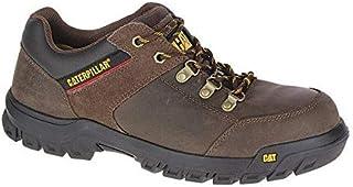 حذاء سلامة بمقدمة فولاذية من كاتربيلار - جلد بني