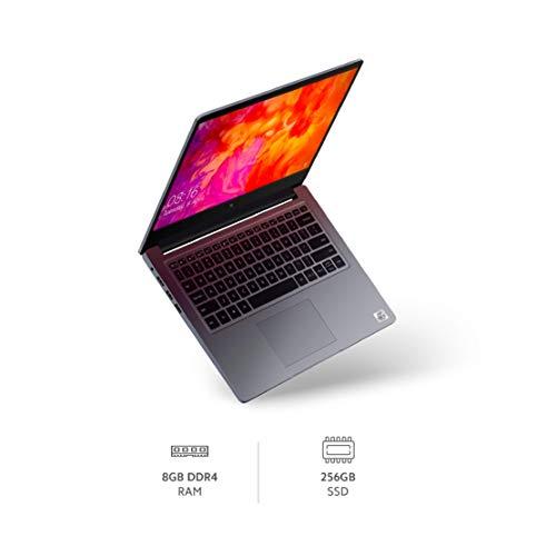 Mi Notebook 14 Intel Core i5-10210U 10th Gen Thin and Light Laptop(8GB/256GB SSD/Windows 10/Intel UHD Graphics/Silver/1.5Kg), XMA1901-FC+Webcam