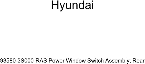 Genuine Hyundai 93580-3S000-RAS Power Window Switch Assembly, Rear