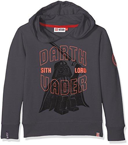 Lego Wear Jungen Lego Boy Star Wars Saxton 652-SWEATSHIRT Sweatshirt, Grau (Dark Grey 984), 110