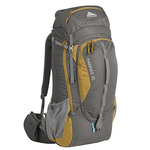 Kelty Pawnee Unisex Outdoor Hiking Backpack available in Grey - 55 Litres