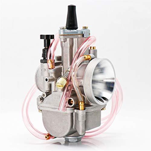 XIWEIG PWK 21 24 26 28 30 32 34 24 2T 4T Carburador De Carburador De Carburador con Power Jet/Fit para - Koso Oko Keihin / 75cc-350cc (Color : 28mm)