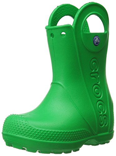 Crocs Crocs Handle It Rain Boot, Unisex - Kinder Gummistiefel, Grün (Grass Green), 23/24 EU
