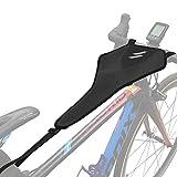 Home Trainer Velo Achort Filet de Sueur de Vélo, Protection Anti-Transpiration pour Cadre de Vélo,...