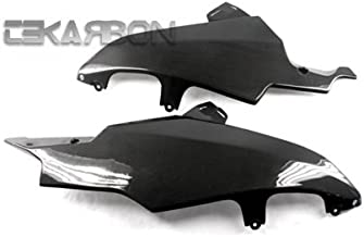 Tekarbon, Carbon Fiber Lower Side Fairings, for Suzuki GSXR 600/750 (2008-2010), 1x1 Plain Weave