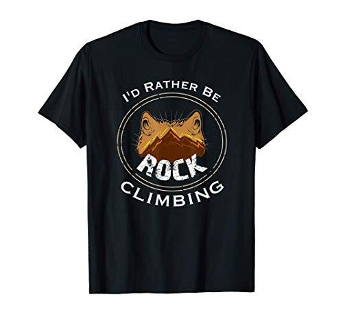 Preferirei arrampicarmi su roccia Maglietta