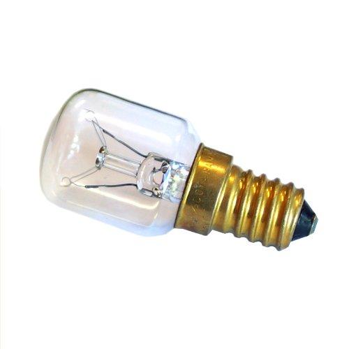 Lampadina Mezza Candela Lampada Incandescente A Pera, Tipo Piccolo. Dimensioni Mm. 25X57.