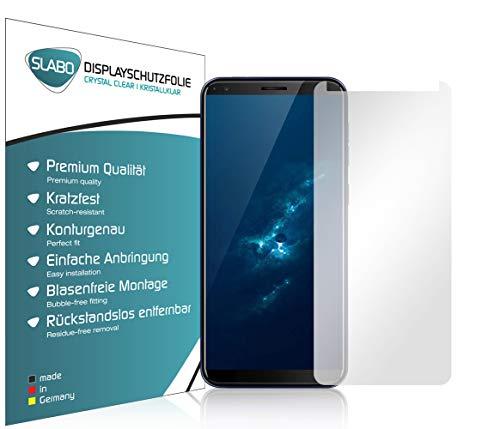 Slabo 4 x Bildschirmschutzfolie für Hafury A7 (2019) Bildschirmfolie Schutzfolie Folie Zubehör Crystal Clear KLAR