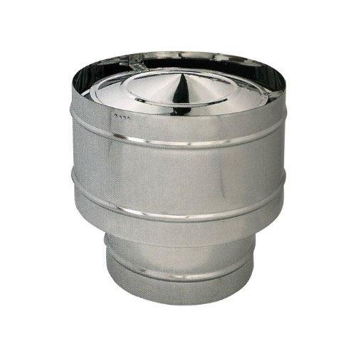Fumaiolo WIND pour poêle à pellets ACIER INOX304 Diamètre 12 cm