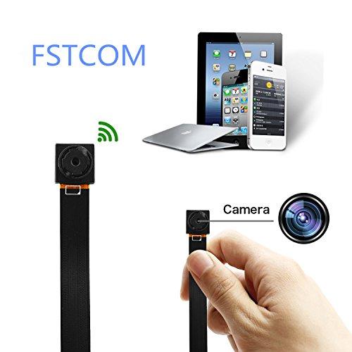 FSTCOM Spionagecamera, verborgen micro-spionagecamera, wifi, spionagecamera, IP mini HD camera, draadloze mini-pen, camera, mini-bewakingscamera