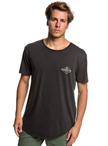 Quiksilver Diamond Tails - T-Shirt for Men - T-Shirt - Männer - L - Schwarz