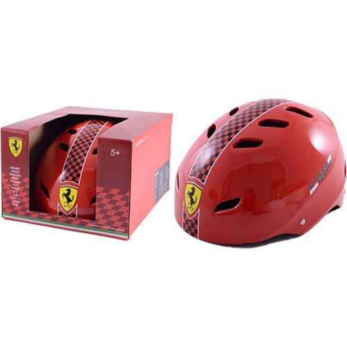 Casco per bambini Ferrari da bici bicicletta di protezione rosso taglia M
