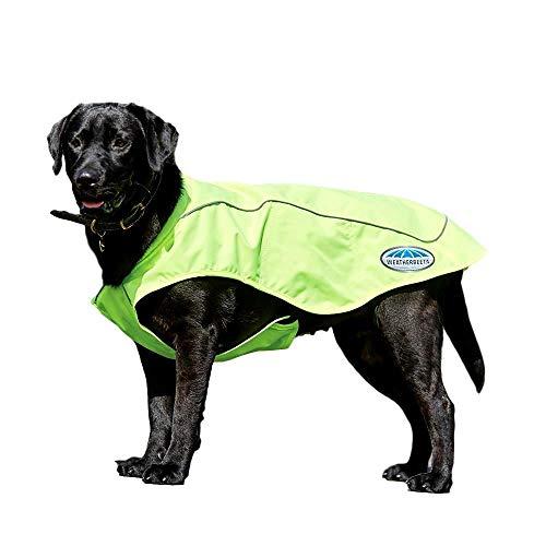 Weatherbeeta Cappotto per Cani Parka 300D Riflettente Giallo