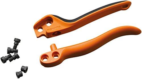 Original Ersatz-Griffe für Fiskars Profi Bypass Gartenschere PB-8 L, Orange/Schwarz, 1026283