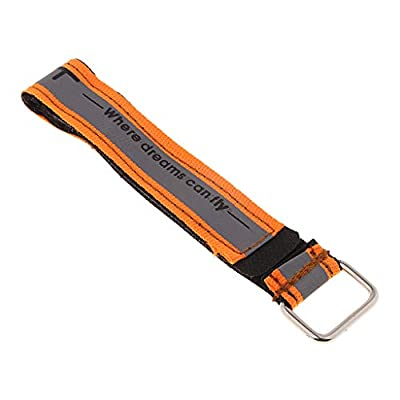 SM SunniMix iFlight High Strength RC Lipo Battery Straps with Non-Slip Strap for 4S 6S Lipo FPV Racing Drone Quadcopter 20x200mm