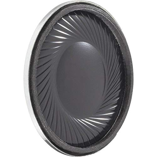 Visaton K 28 WP – Loudspeakers (300 – 20000 Hz, Black, Tv/Monitor Speakers, 28 x 28 x 5.5 mm)