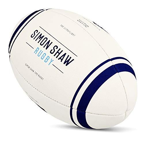 Simon Shaw Rugby Ultra Flug Rugby-Ball Größe 4   Übungsball   Rugby   Rugby Ball   Rubgy Ball Für Jugendliche