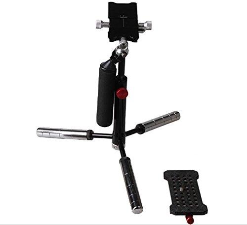 Gowe ausziehbar adujustable Handheld Mini-Kamera Stabilisator für DV Digital Canon Sony Nikon DSLR spiegellose Kamera