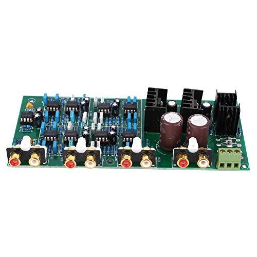 Scheda amplificatore, scheda divisore di frequenza, 1 PC Linkwitz-Riley elettronico a 3 vie Scheda divisore di frequenza a 6 canali Filtro 310HZ/3.1KHZ