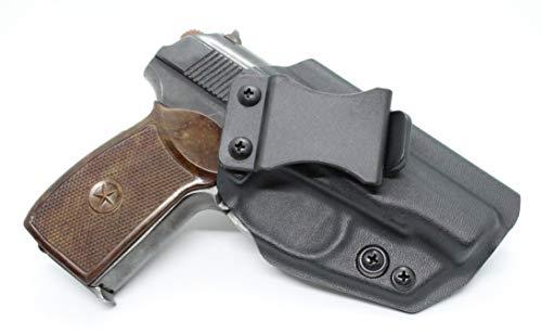 Makarov Kydex Holster Adjustable IWB Right Hand Carry Black (Макаров ПМ 9x18mm)
