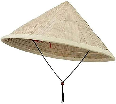 SUNNYHILL Special sale item Pack of 2 Fish Hat Straw Large New product type L Palm Asian Vietnamese