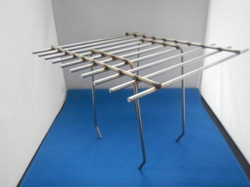 Dohlenschutzgitter / Dohlengitter Edelstahl 200 x 200 mm