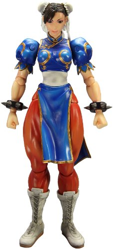 Figurine 'Super Street Fighter IV' Play Arts Kai - Chun Li