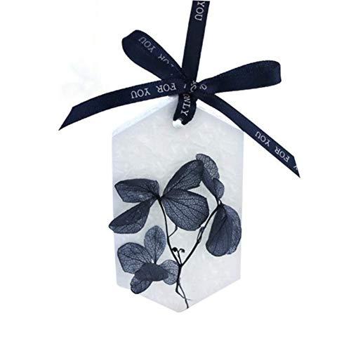 JLZK Bueno Cristal Cera Eterna Seca Hoja Aroma de la Flor de Cera de Vela perfumada Regalo de San Valentín Fragancia de la Vela de aromaterapia tabletas ambientador Mariposa (Color : Oval)