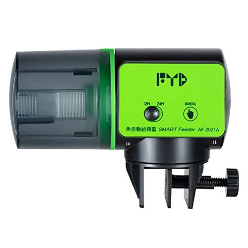 FYD Automatic Fish Feeder, Aquarium Auto Fish Feeder Food Timer Dispenser Cover