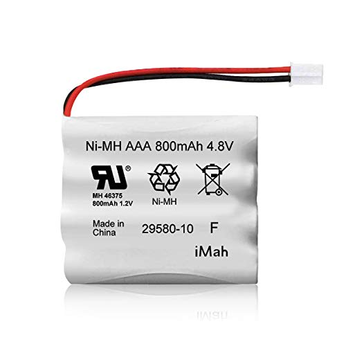 Replacement for Summer Infant Wide View Baby Monitor Battery 29580-10 29270-10 29580 29590 29610 29620 29630 29710 29740 29790 29940 36014 36034 AAA Ni-MH 4.8V 800mAh