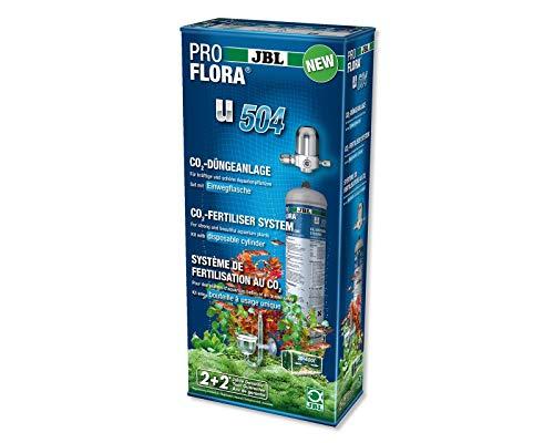 JBL ProFlora u504 CO2-Düngeanlage Komplettset für Aquarienpflanzen