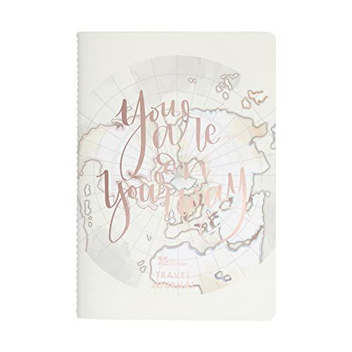 Travel Journal Petite Planner. 28 Daily Spreads Including Meal Logs, Activity Trackers, Writing Space and More. Four Week Travel Tracker and Notebook. Portable Size by Erin Condren.