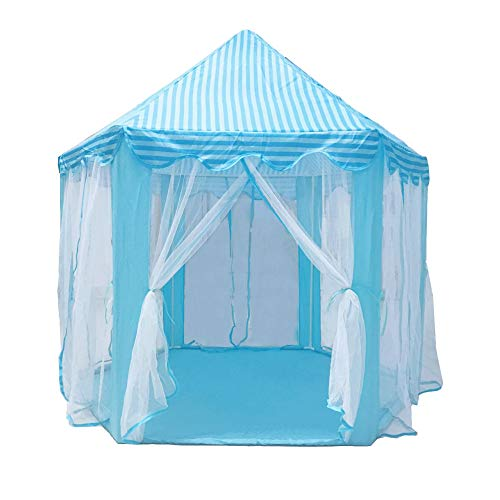 SDSA Hexagon Princess Castle Indoor And Outdoor Tulle Toy Game Tent140*135cm