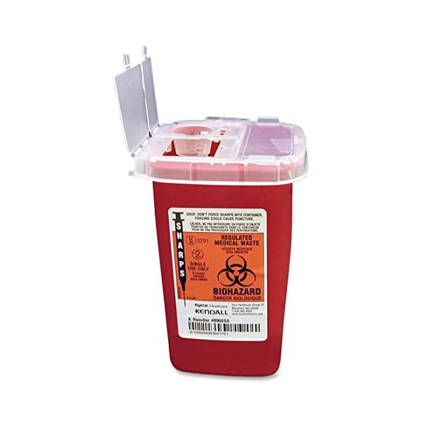 buy  Unimed-Midwest 1 Quart Flip Top Sharps Container, ... Diabetes Care