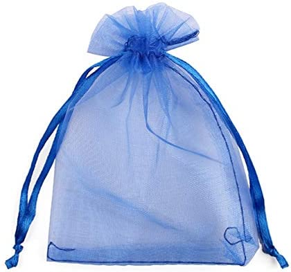 Geschenktasje van hoge kwaliteit 50 stkspartij 7x9 9x12 10x15 13x18 organza tassen sieraden tas Bruiloft decoratie Tekenbare tassen geschenk zakjes sieraden verpakking Modieus mooi en gemakkelijk