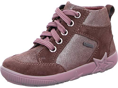 Superfit Baby Mädchen Starlight Sneaker, Braun (Lila 90), 22 EU