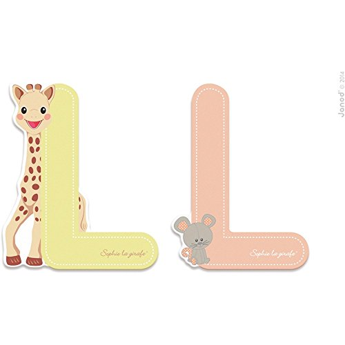 Lettre L Sophie la girafe - Janod