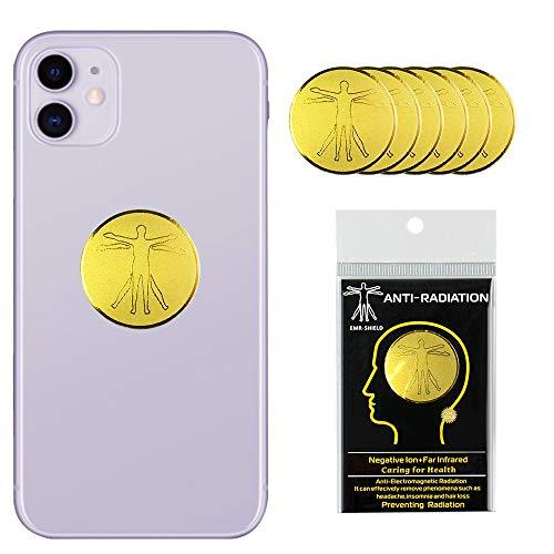 Sinstar Aufkleber für Handys, Laptop, iPad Pro, MacBook Pro und andere elektronische Geräte, 6 Stück gold