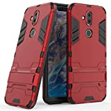 Case for Nokia 8.1 (6.18 inch) 2 in 1 Shockproof with