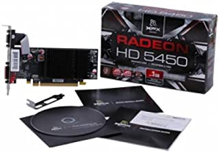 XFXテクノロジーHD 545X ynh2XFX ATI Radeon hd5450512MB gddr2VGA / HDMI / DVI低プロファイル( PCI - E