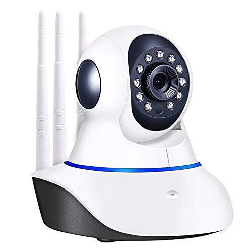 Cámara de Vigilancia,Cámara de Vigilancia WiFi Interior 1080P,con Función de Visión Nocturna,Audio Bidireccional,Detección de Movimiento,Control de Aplicaciones de Soporte,Compatible con iOS/Android