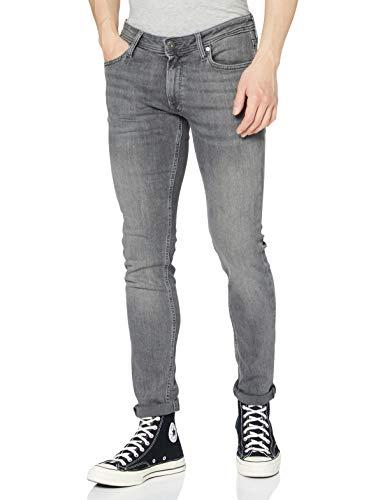 JACK & JONES Male Skinny Fit Jeans Liam ORIGINAL AM 010 3032Grey Denim