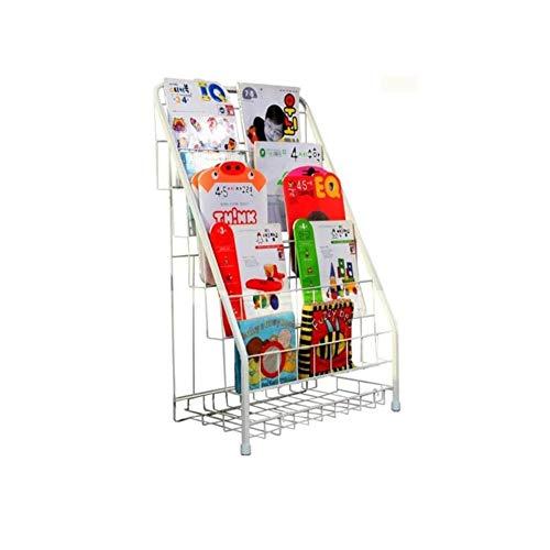 ZSMPY Visualización Vertical Revista, Estante For Libros, Simple Estantería Jardín De Infancia,...