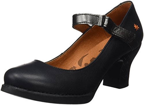 Art Damen 0933 Memphis Harlem Pumps, Schwarz (Black Antracita), 39 EU