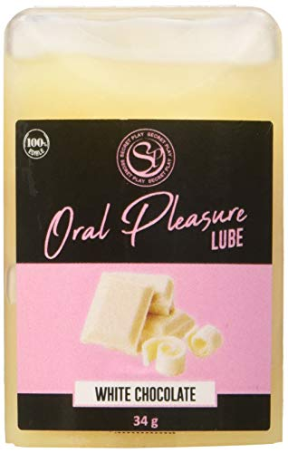 Dreamlove Secretplay Lubricante Comestible Chocolate Blanco - 1 Unidad