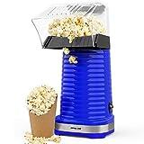 Hot Air Popper Popcorn Maker, 1200W Hot Air Popcorn Popper, Electric Popcorn Machine